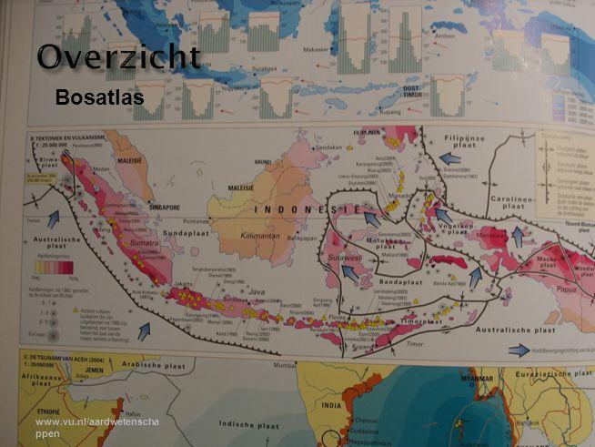 Overzicht Bosatlas www.vu.nl/aardwetenschappen