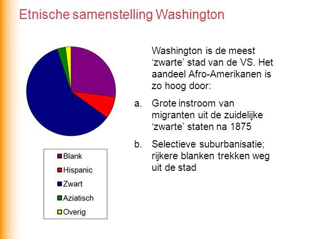 Etnische samenstelling Washington