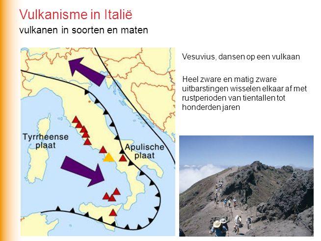 vulkanen in soorten en maten