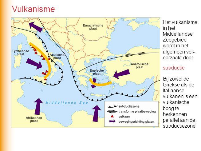 Vulkanisme Het vulkanisme in het Middellandse