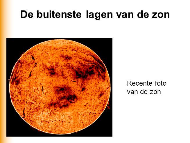 De buitenste lagen van de zon