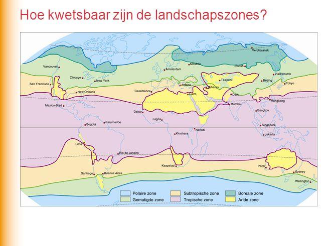 Hoe kwetsbaar zijn de landschapszones