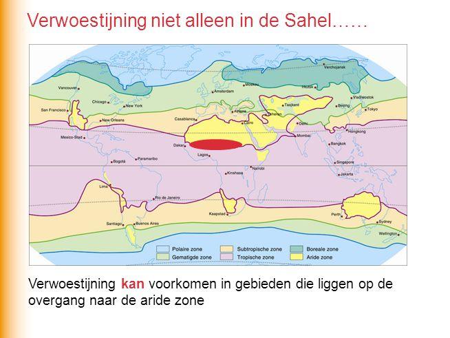 Verwoestijning niet alleen in de Sahel……