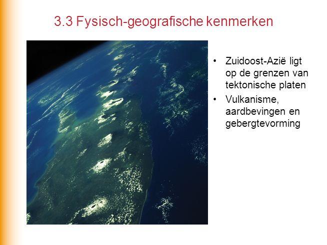 3.3 Fysisch-geografische kenmerken
