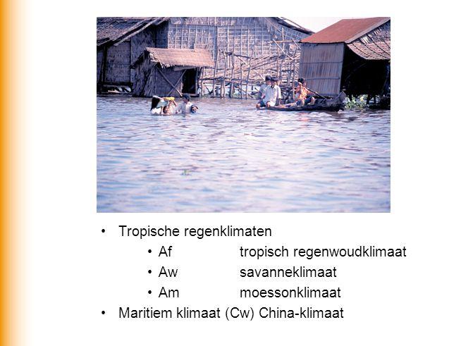 Tropische regenklimaten