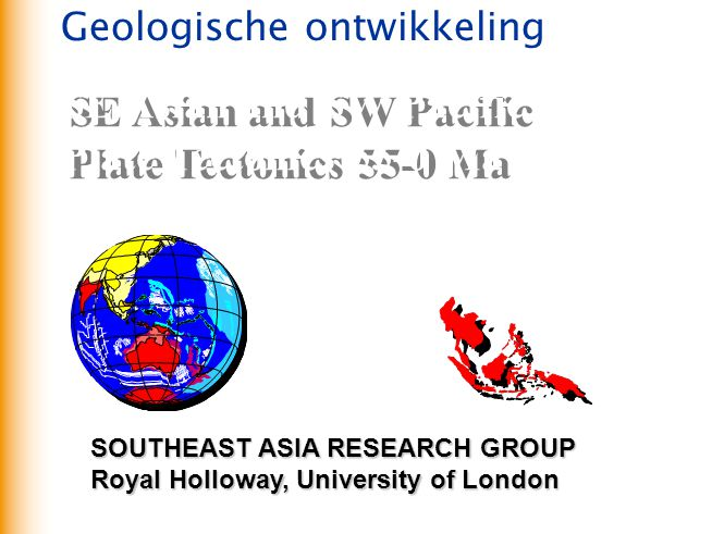SE Asian and SW Pacific Plate Tectonics 55-0 Ma