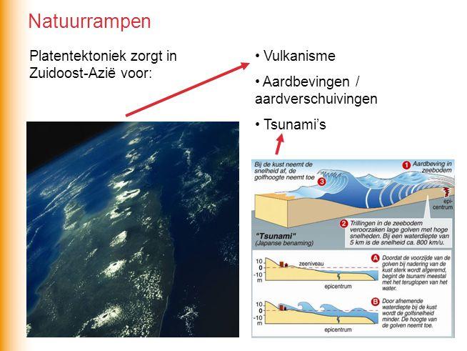 Natuurrampen Platentektoniek zorgt in Zuidoost-Azië voor: Vulkanisme