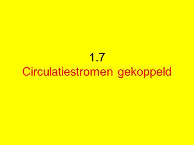 1.7 Circulatiestromen gekoppeld