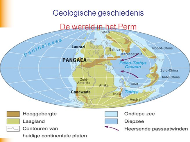 Geologische geschiedenis