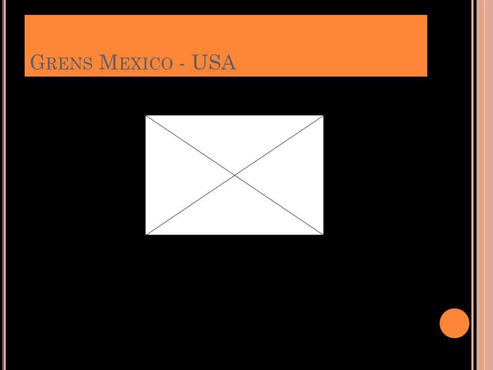 Grens Mexico - USA