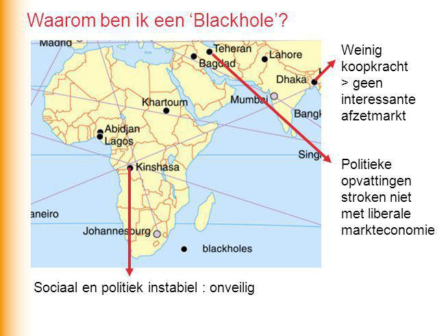 Waarom ben ik een 'Blackhole'