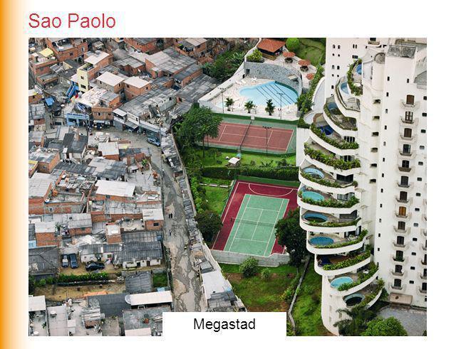 Sao Paolo Megasteden Megastad