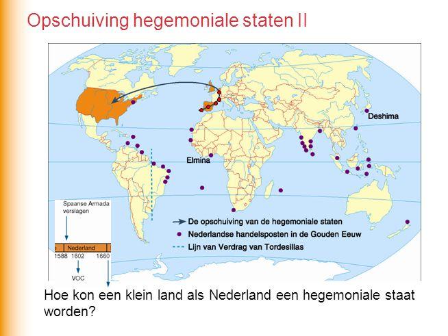 Opschuiving hegemoniale staten II