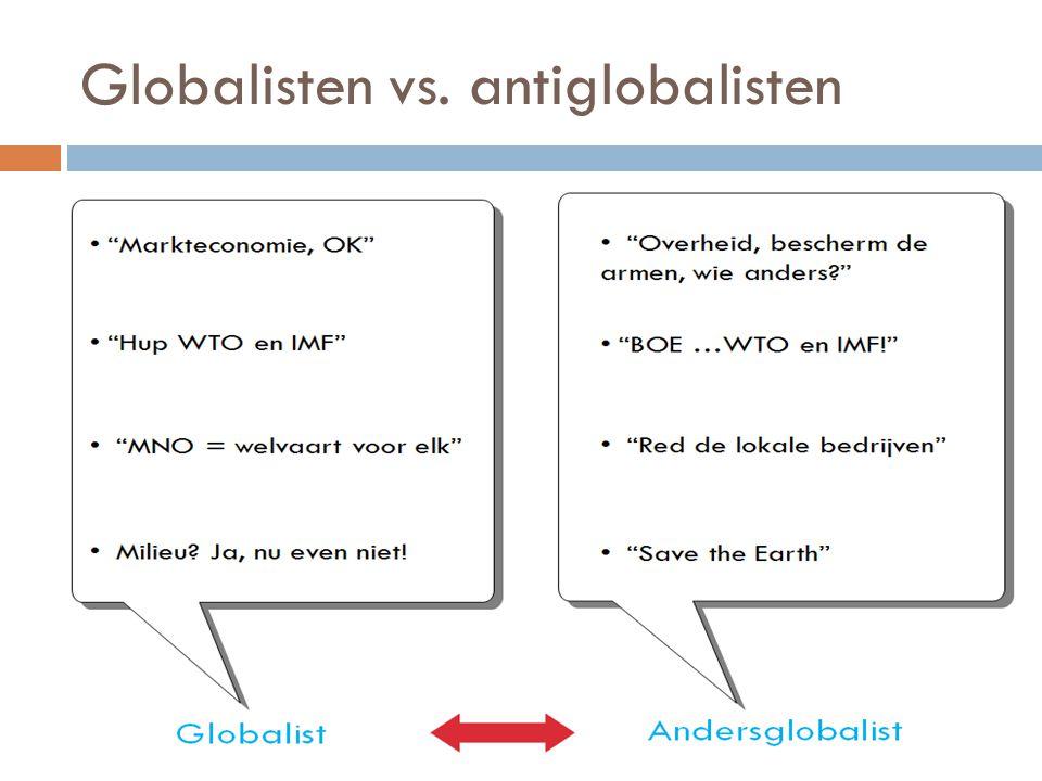Globalisten vs. antiglobalisten