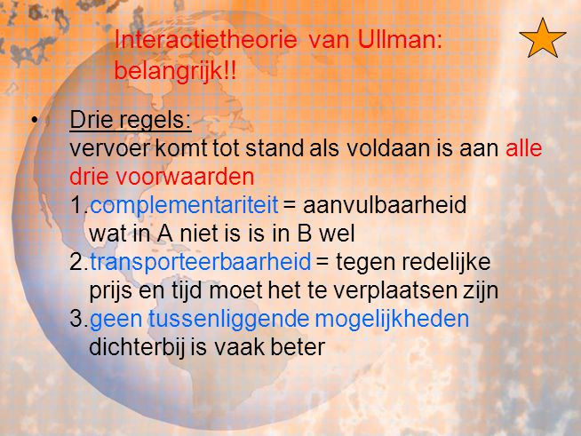 Interactietheorie van Ullman: belangrijk!!
