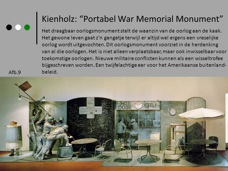 Kienholz: Portabel War Memorial Monument