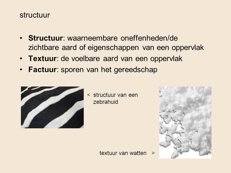 Textuur: de voelbare aard van een oppervlak