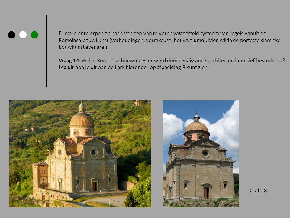 Er werd ontworpen op basis van een van te voren vastgesteld systeem van regels vanuit de Romeinse bouwkunst (verhoudingen, vormkeuze, bouwvolume). Men wilde de perfecte klassieke bouwkunst evenaren.