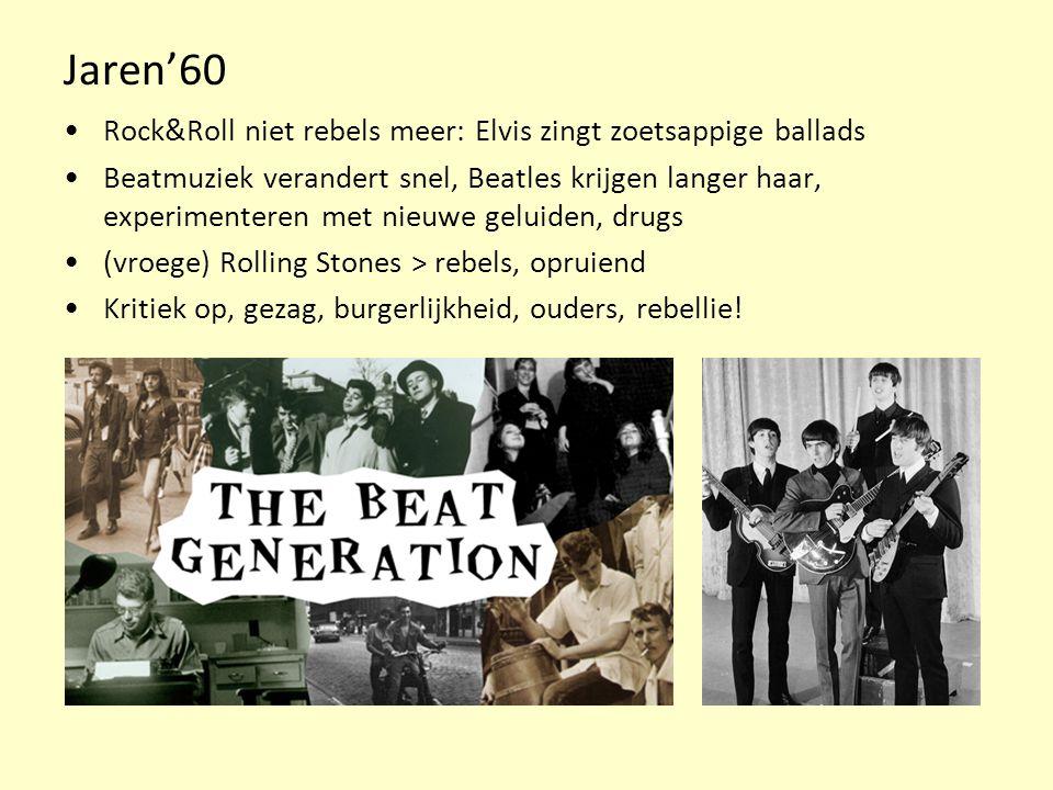 Jaren'60 Rock&Roll niet rebels meer: Elvis zingt zoetsappige ballads
