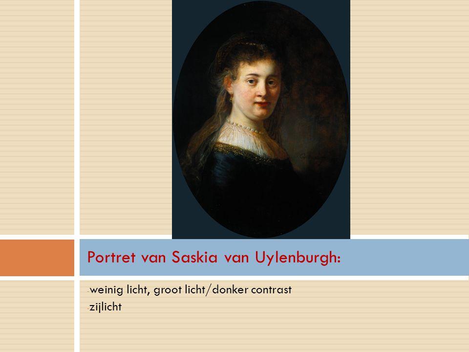 Portret van Saskia van Uylenburgh: