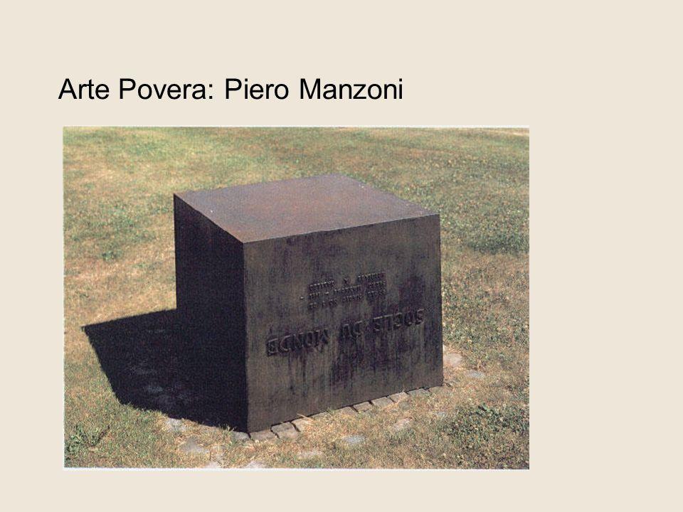 Arte Povera: Piero Manzoni