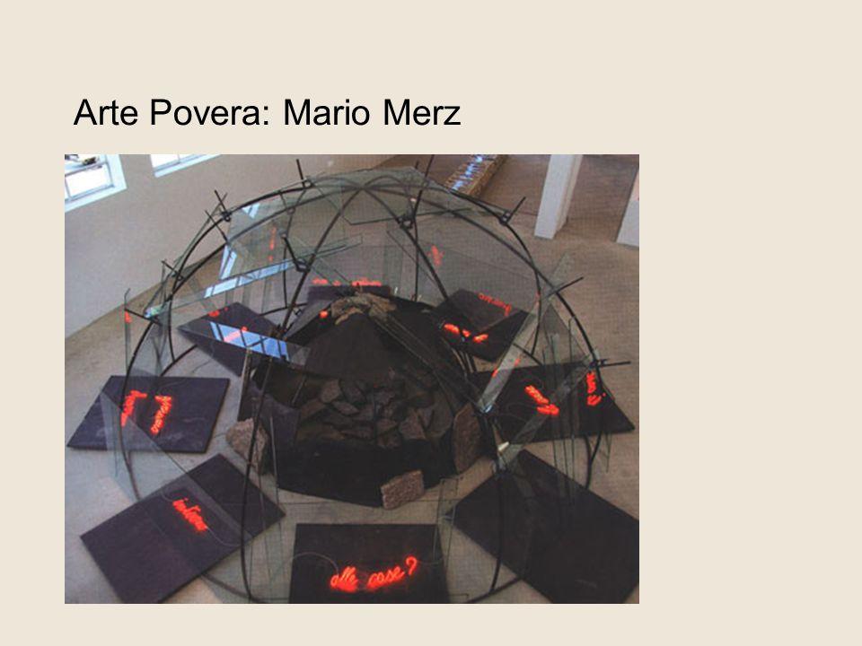 Arte Povera: Mario Merz