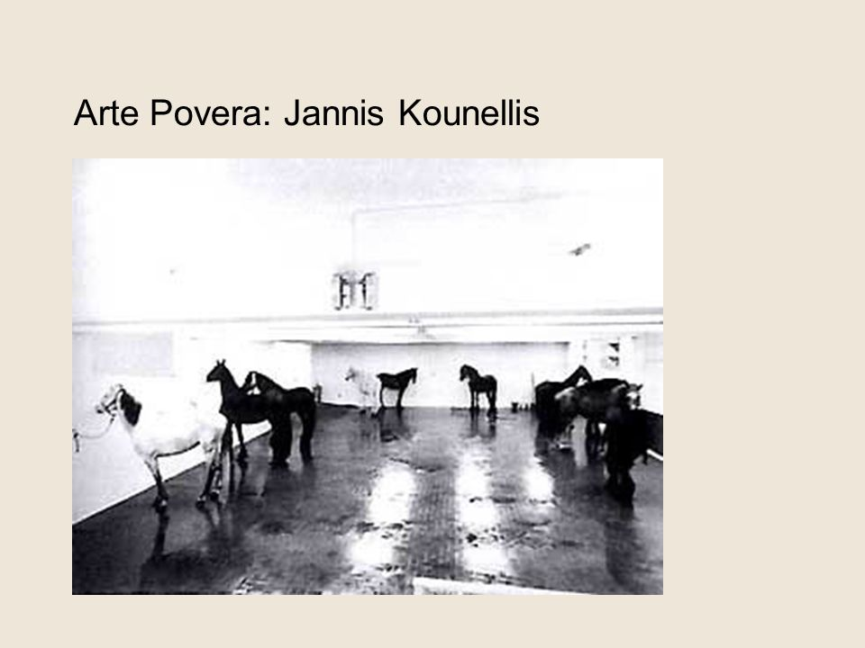 Arte Povera: Jannis Kounellis