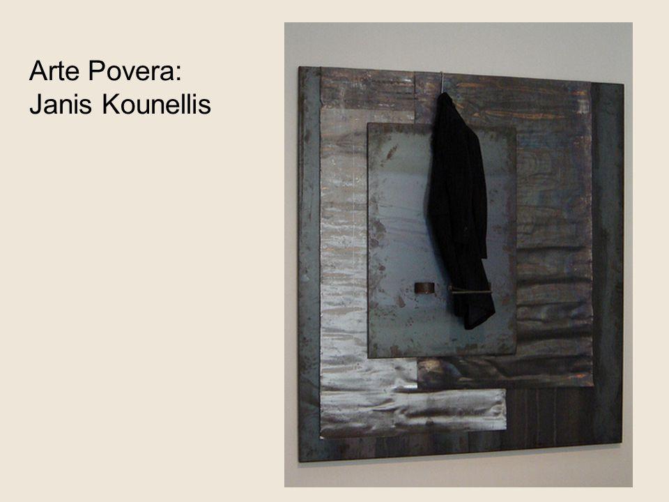 Arte Povera: Janis Kounellis