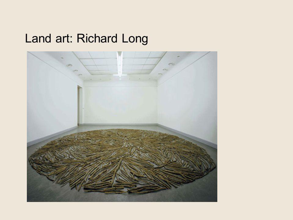 Land art: Richard Long