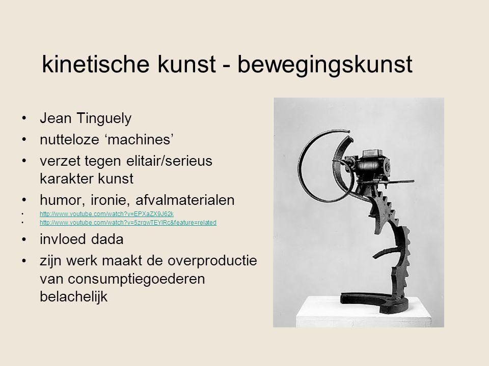 kinetische kunst - bewegingskunst