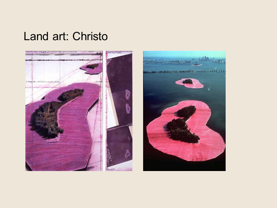 Land art: Christo