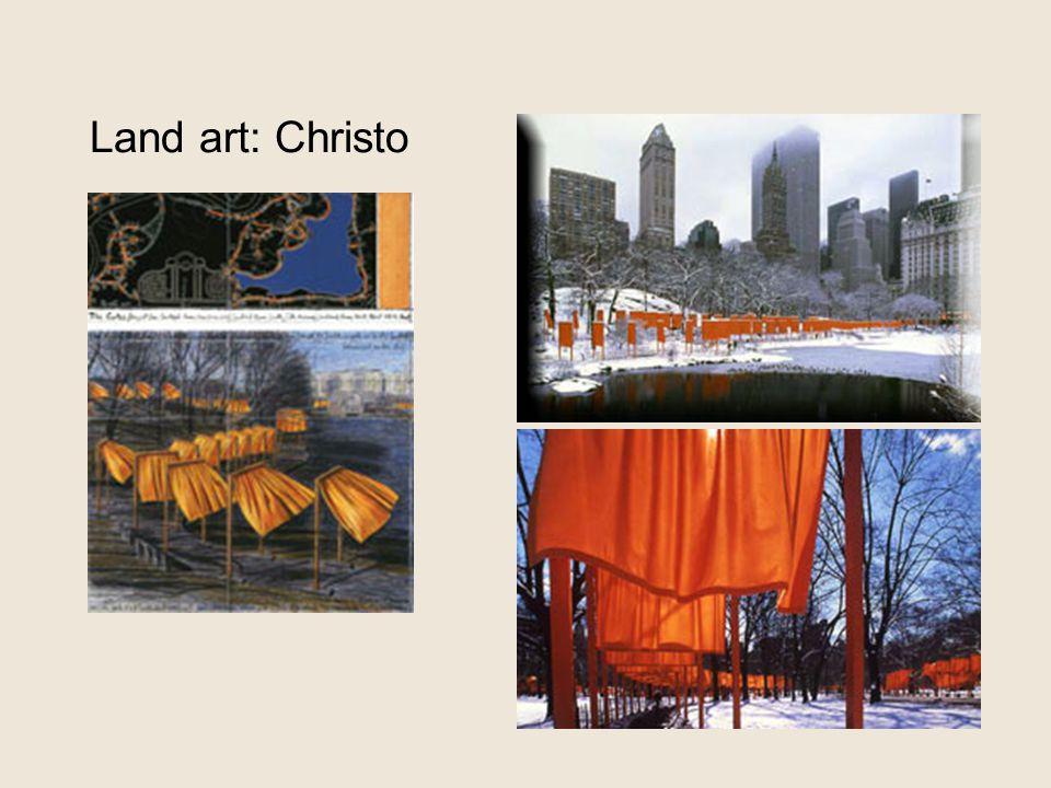 Land art: Christo 'the gates'
