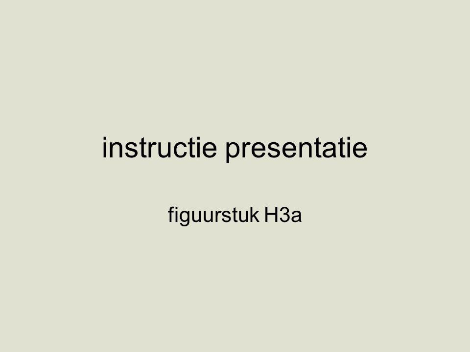 instructie presentatie