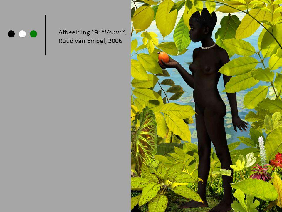 Afbeelding 19: Venus , Ruud van Empel, 2006 Paul Gauguin, 1898