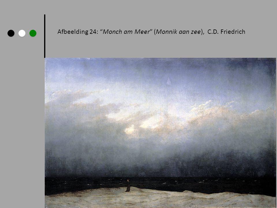 Afbeelding 24: Monch am Meer (Monnik aan zee), C.D. Friedrich