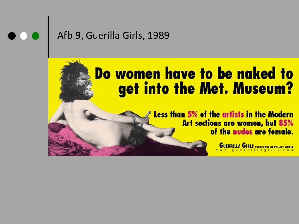 Afb.9, Guerilla Girls, 1989 Guerilla Girls, 1989