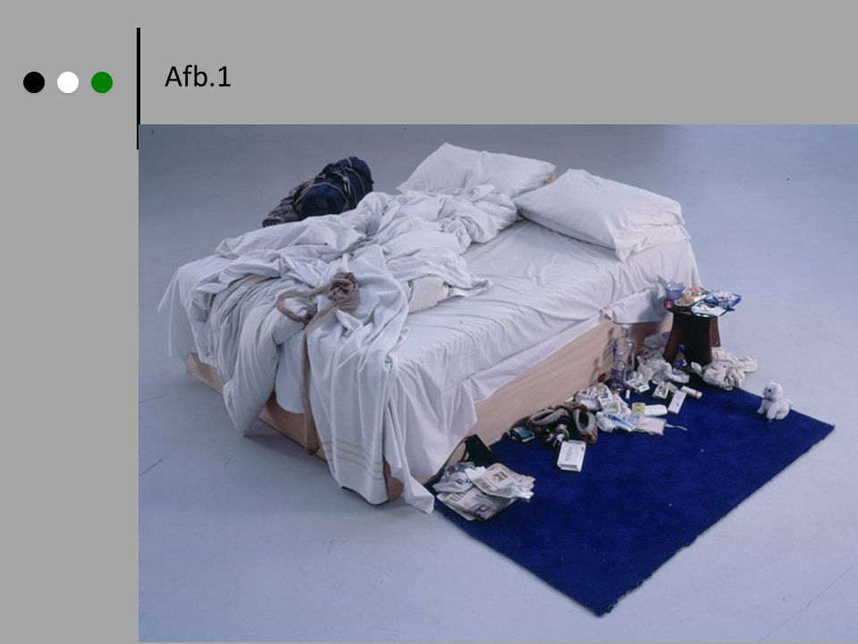 Afb.1 Tracey Emin: My Bed