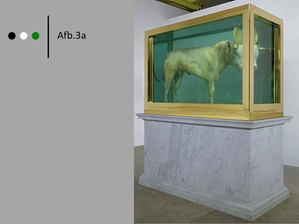 Afb.3a Damien Hirst: Gouden Kalf,