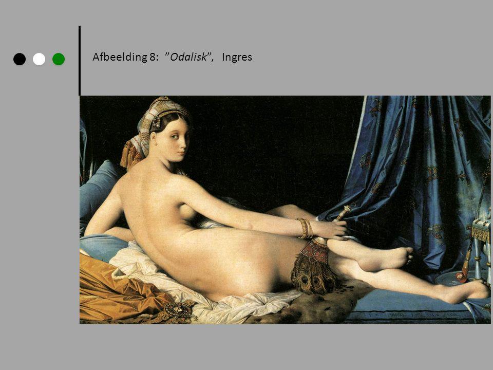 Afbeelding 8: Odalisk , Ingres