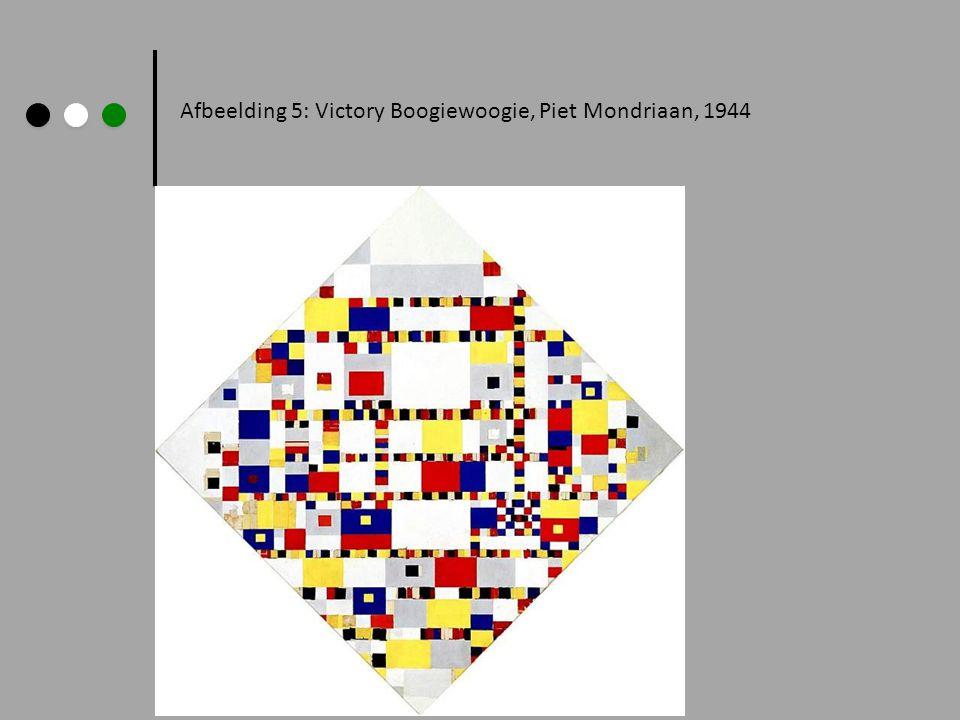Afbeelding 5: Victory Boogiewoogie, Piet Mondriaan, 1944