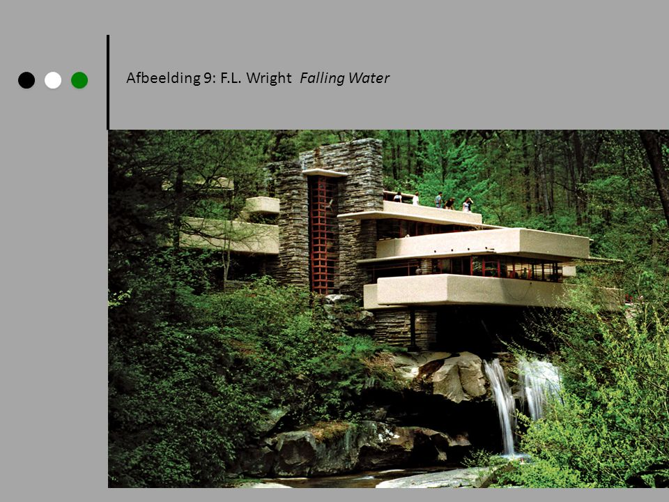 Afbeelding 9: F.L. Wright Falling Water