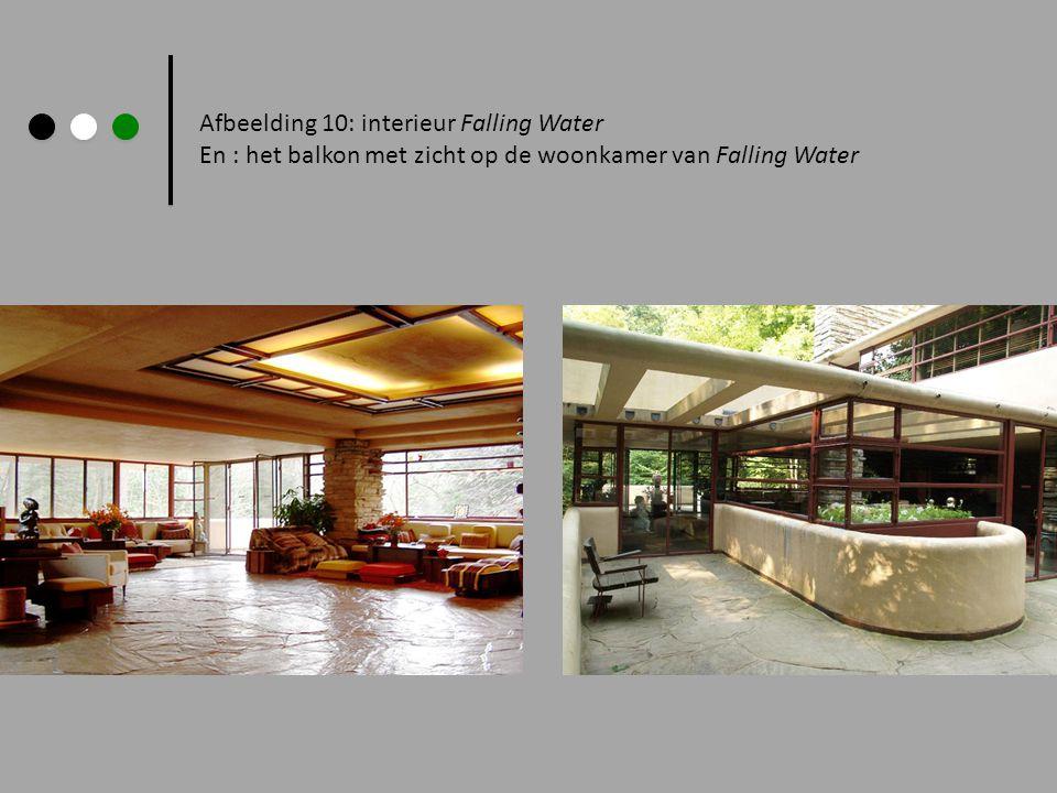 Afbeelding 10: interieur Falling Water