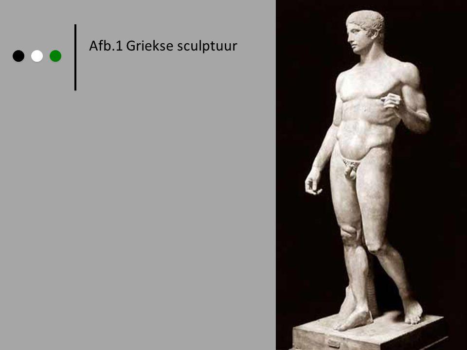 Afb.1 Griekse sculptuur