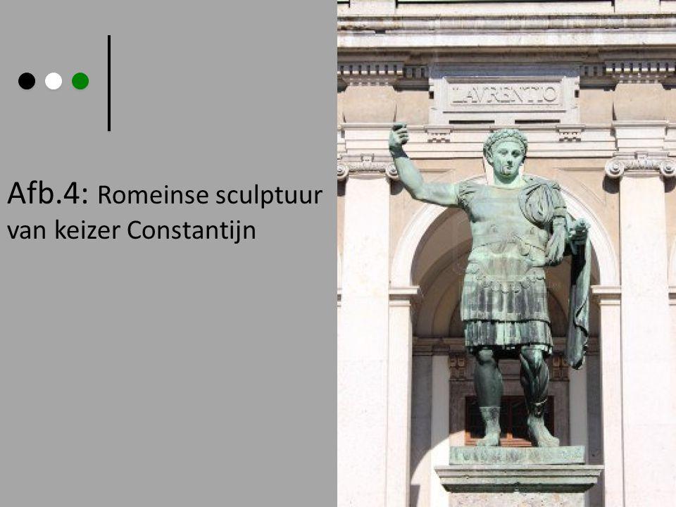 Afb.4: Romeinse sculptuur