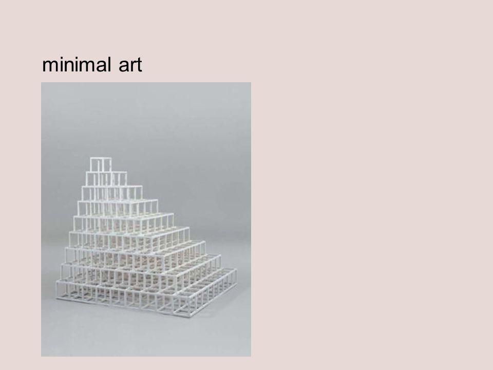 minimal art Sol LeWitt