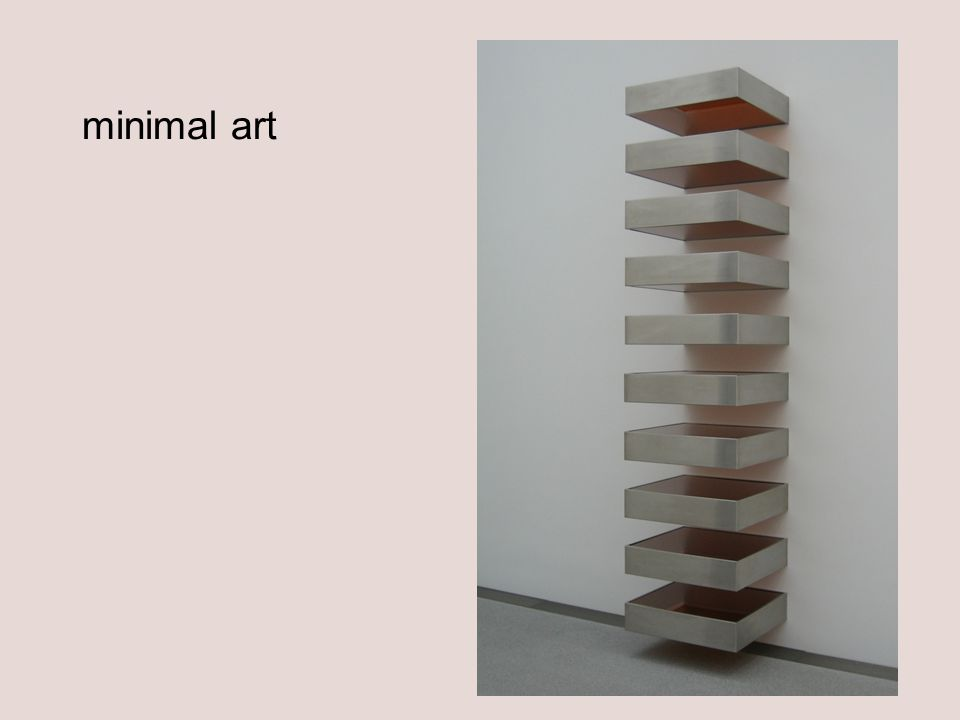 minimal art Donald Judd