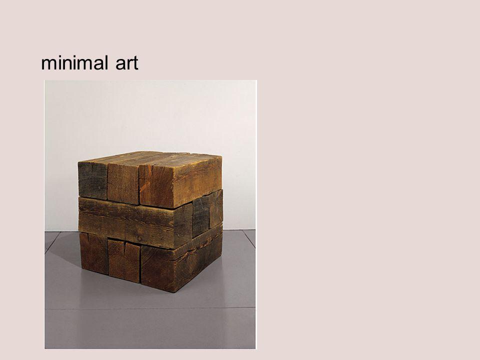 minimal art Carl Andre