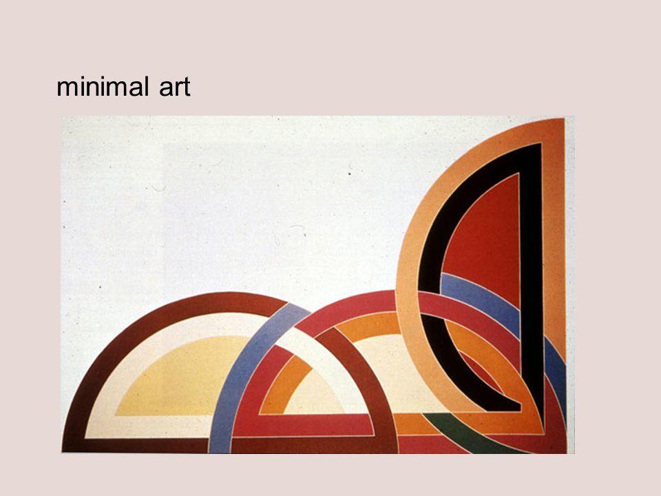 minimal art Frank Stella