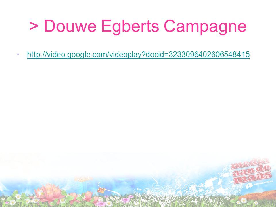 > Douwe Egberts Campagne