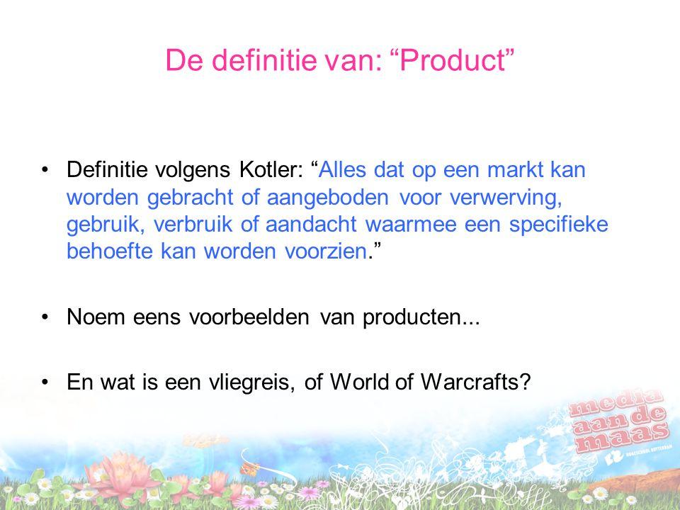 De definitie van: Product